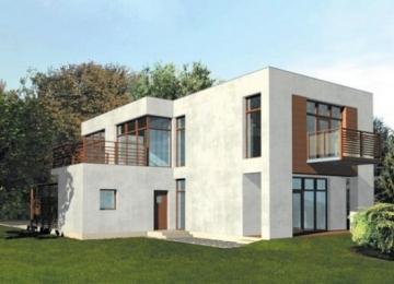 Individualaus namo projektas 'Mirga' Modernūs namai