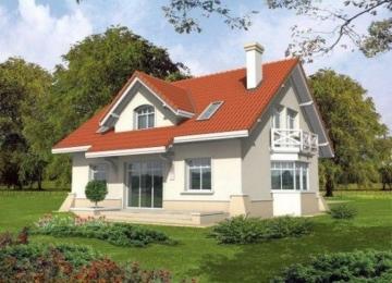 Individual house project 'Nadina'