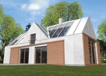 Individualaus namo projektas 'Nikita' Modernūs namai