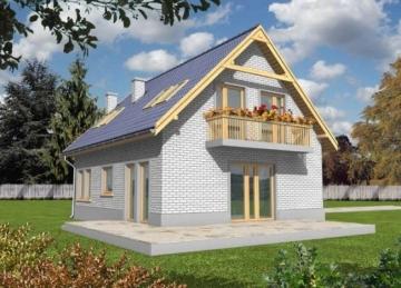 Individualaus namo projektas 'Odeta'