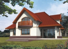 Individual house project 'Ofelija'