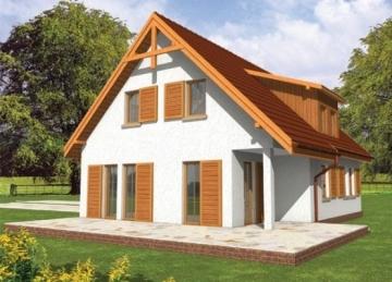 Individualaus namo projektas 'Pelenė' Tradiciniai namai