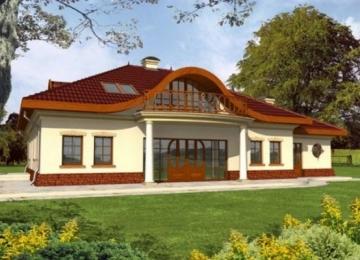 Individualaus namo projektas Radmilė
