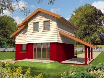 Individualaus namo projektas 'Ramunė'