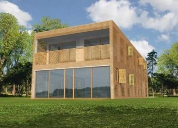 Individualaus namo projektas 'Rodrigas' Modernūs namai