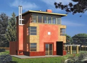 Individualaus namo projektas 'Roma' Modernūs namai