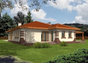 Individualaus namo projektas 'Rusnė'