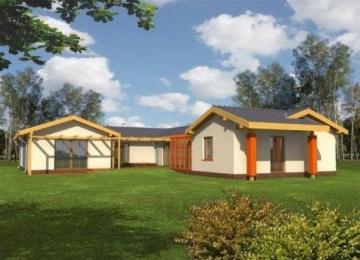 Individualaus namo projektas 'Sabina'