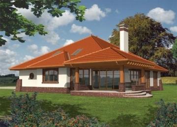 Individualaus namo projektas 'Severina' Tradiciniai namai