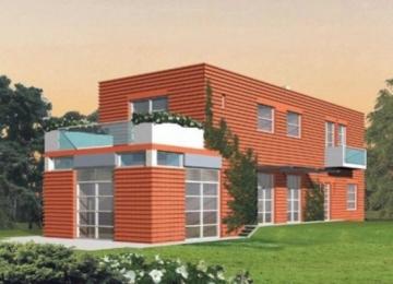 Individualaus namo projektas 'Stepas' Modernūs namai