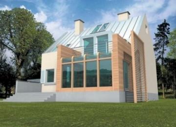 Individualaus namo projektas 'Tadas' Modernūs namai