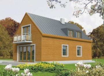 Individualaus namo projektas 'Tania' Nebrangūs namai