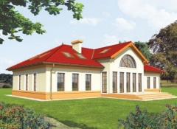 Individual house project 'Tautvydė'