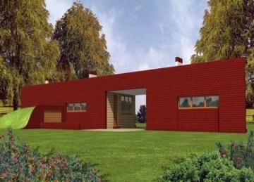 Individualaus namo projektas 'Telas'