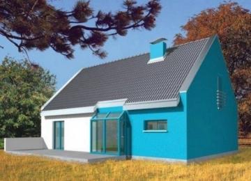 Individualaus namo projektas 'Tina'
