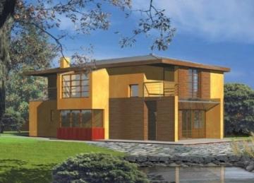 Individualaus namo projektas Verona Modernūs namai