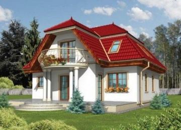 Individualaus namo projektas 'Virginija'