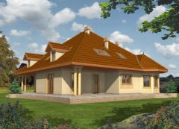 Individualaus namo projektas 'Vita' Tradiciniai namai