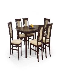 Išskleidžiamas stalas FRYDERYK 160/200 Mediniai valgomojo stalai