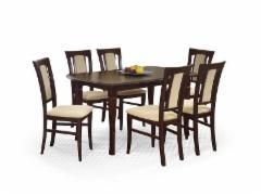 Išskleidžiamas stalas FRYDERYK 160/240 Mediniai valgomojo stalai