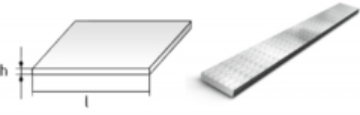 Flat bar 120x25 Flat bars