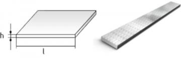 Flat bar 30x4 S235JR+AR Flat bars