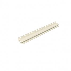 Kampas vidinis fasado apdailai, smėlio Facade planks fittings (pvc, fiberboard, wood)