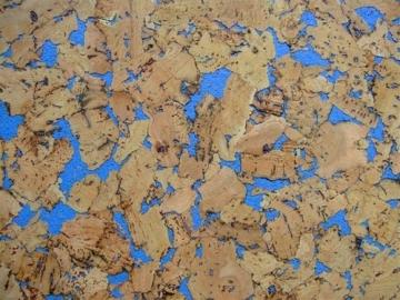 Kamštinė sienų danga NEVADA BLUE 300x600 mm. Kamštinė danga