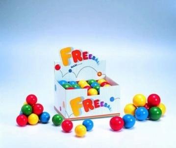 Kamuoliukas plaštakos mankštai 'Freeball maxi' Izmantot rīkus