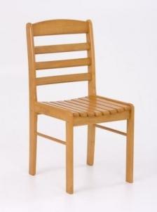 Kėdė BRUCE (auksinis alksnis) Medinės valgomojo kėdės