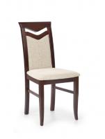 Kėdė CITRONE (tamsus riešutas) Koka dining krēsli