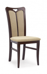 Kėdė HUBERT 2 (tamsus riešutas) Medinės valgomojo kėdės
