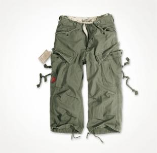 Kelnės 3/4 Surplus Engineer oliv - kelnės žemiau kelių Taktinės, kariškos, medžioklinės kelnės, kostiumai