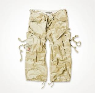 Kelnės 3/4 Surplus Engineer smėlynų maskuotė Тактические брюки, костюмы