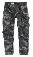 Kelnės Airborne Trousers Slimmy BlackCamo SURPLUS