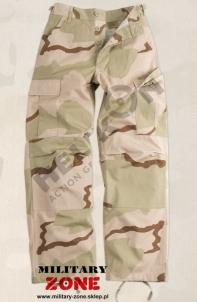 Kelnės BDU Helikon desert 3 smėlio spalvos maskuotė US ARMY