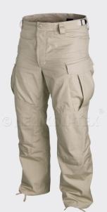 Kelnės SFU Helikon kariškos smėlio spalvos Tactical bikses, tērpi