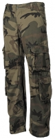 Kelnės kareiviškos Cargo DEFENSE woodland Pure Trash Tactical pants, suits