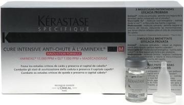 Kerastase Specifique Cure Intensive Anti-Chute Cosmetic 60ml Plaukų stiprinimo priemonės (fluidai, losjonai, kremai)