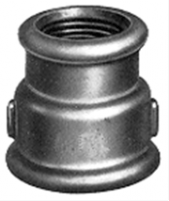 Ketaus cinkuota pereinama mova, d 1''1/4-1'', vidus-vidus Ketinės galvanized couplings