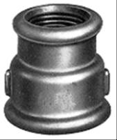 Ketaus cinkuota pereinama mova, d 1''1/4-3/4'', vidus-vidus Ketinės galvanized couplings