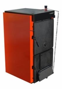 Ketinis kieto kuro katilas SOLIDMAX 4 sekcijų (17-25.5kW) A traditional solid fuel boilers
