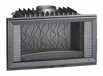 Ketinis židininio ugniakuras Invicta 840 | horizontalus LO Židiniai, pirties krosnelės