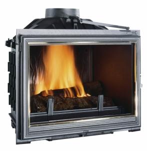 Ketinis židinio ugniakuras Seguin Celsius 11-16,5 kW Kamīns, pirts krāsnis
