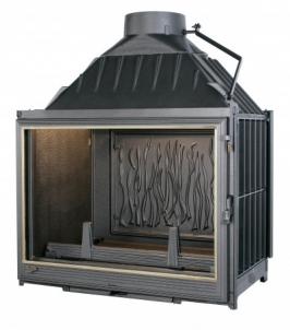 Ketinis židinio ugniakuras Seguin Multivision 7000 | su tiesiu stiklu 16-22.4 kW Židiniai, pirties krosnelės