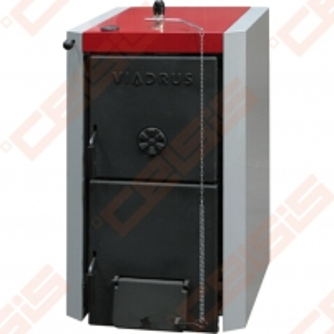 Kieto kuro katilas Viadrus U22, 4-ių sekcijų A traditional solid fuel boilers