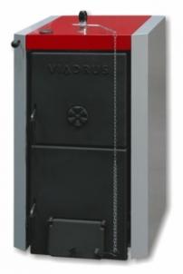 Kieto kuro katilas Viadrus U22, 5-ių sekcijų A traditional solid fuel boilers