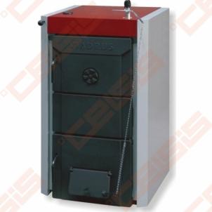 Kieto kuro katilas Viadrus U26, 5-jų sekcijų A traditional solid fuel boilers