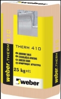 Adhesive and Armoring Mortars Weber therm 410 25kg Glue reinforcement