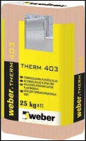 Adhesive Compound for polystyrene Weber.therm 403, 25 kg Glue heat insulation